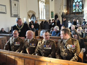 Soldiers from Dalton Barracks ready to honour Sgt Mott