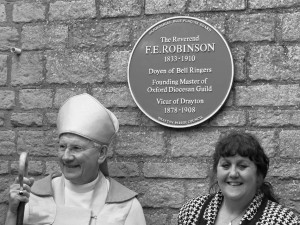 Blue Plaque dedication