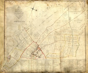 1815 Drayton Enclosure Map