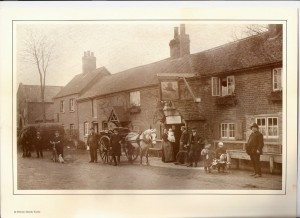 The Red Lion 19th C